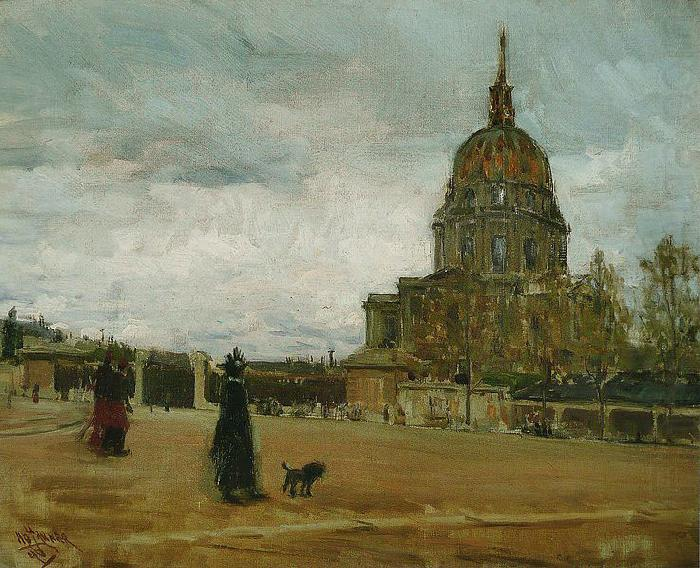 Les Invalides, Paris - Henry Ossawa Tanner