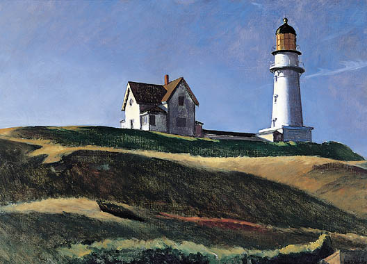 Lighthouse Hill - Edward Hopper