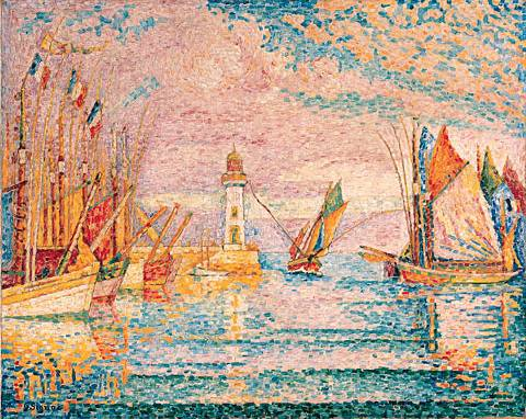 Lighthouse at Groix - Paul Signac