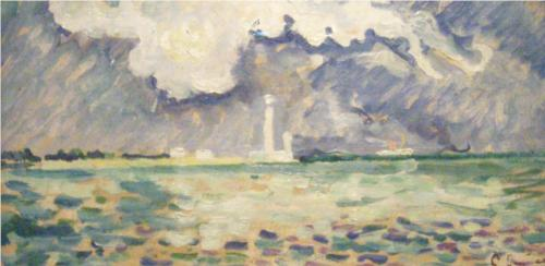 Lighthouse of Gatteville - Paul Signac