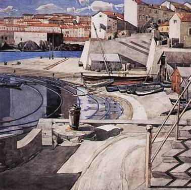 Little Bay Port Vendres - Charles Mackintosh