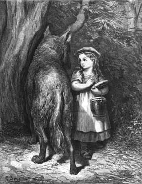 Little Red Riding Hood - Gustave Dore