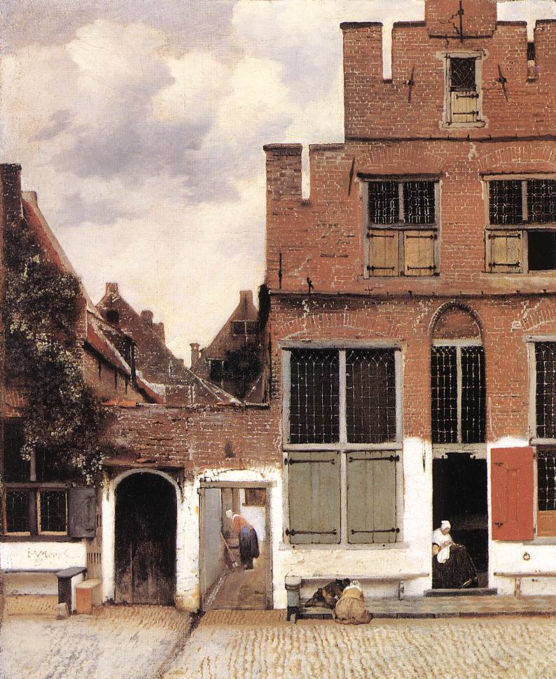 The Little Street - Jan Vermeer van Delft