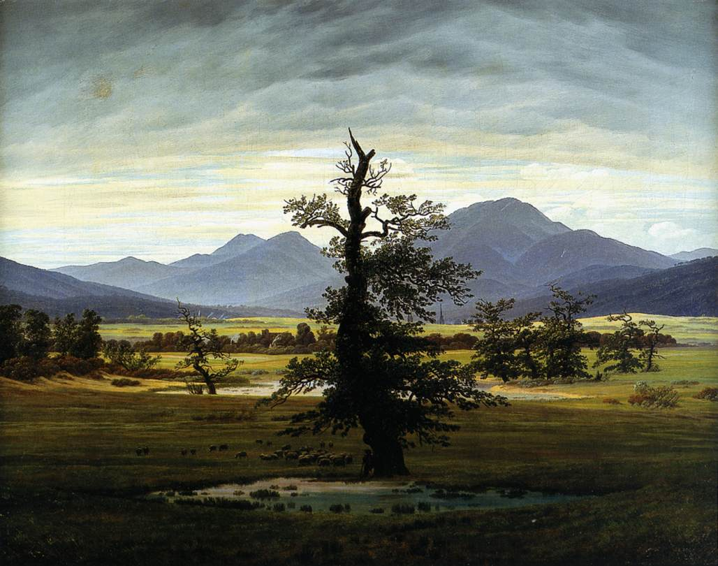 Lonely Tree - Caspar David Friedrich