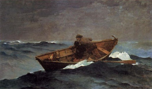 Lost on the Grand Banks - Winslow Homer