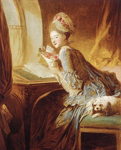 Love Letter - Jean Honore Fragonard