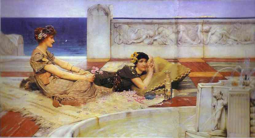 Love Votaries - Lawrence Alma Tadema
