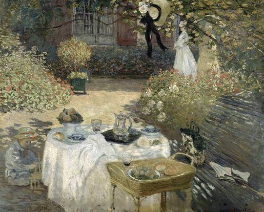 Lunch - Claude Monet