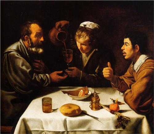 The Lunch - Diego Velazquez