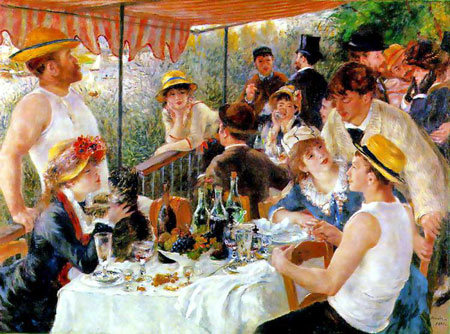 Luncheon at the Boating Party - Pierre Auguste Renoir