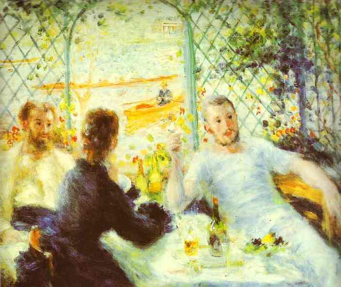 Luncheon of the Boating Party - Pierre Auguste Renoir
