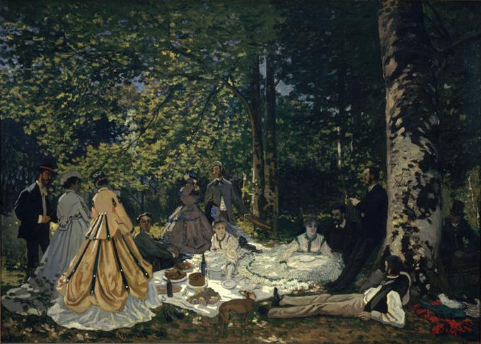 Luncheon on the Grass - Claude Monet