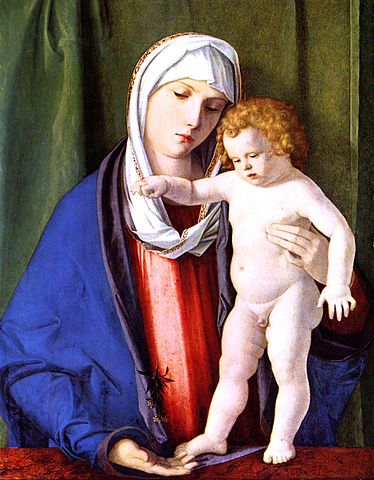 Madonna and Child - Giovanni Bellini