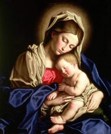 Madonna and Child - Sassoferrato