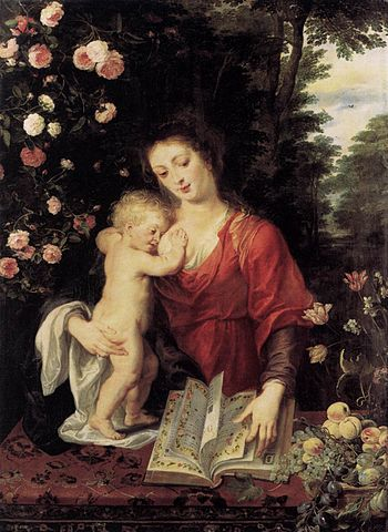 Madonna and Child - Peter Paul Rubens