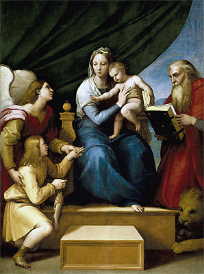 Madonna of the Fish - Raffaello Raphael Sanzio