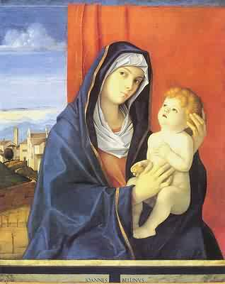 Madonna with Child - Giovanni Bellini