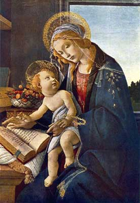 Madonna with the Child - Sandro Botticelli