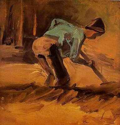 Man Digging - Vincent van Gogh