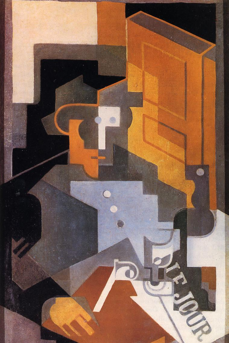 Man from Touraine - Juan Gris