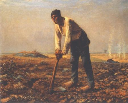 Man with a Hoe Jean - Francois Millet