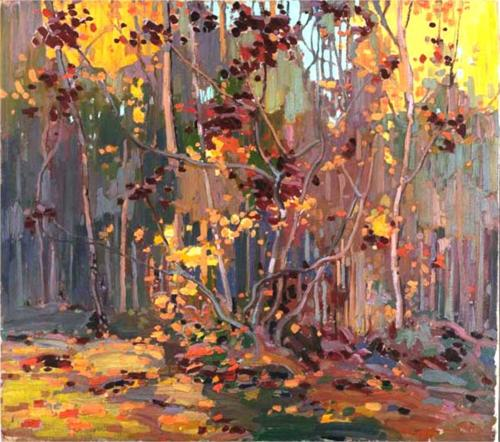 Maple Saplings - Tom Thomson