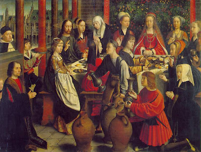 Marriage at Cana - Gerard David