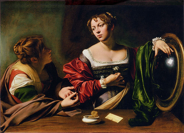 Martha and Mary Magdalene - Caravaggio