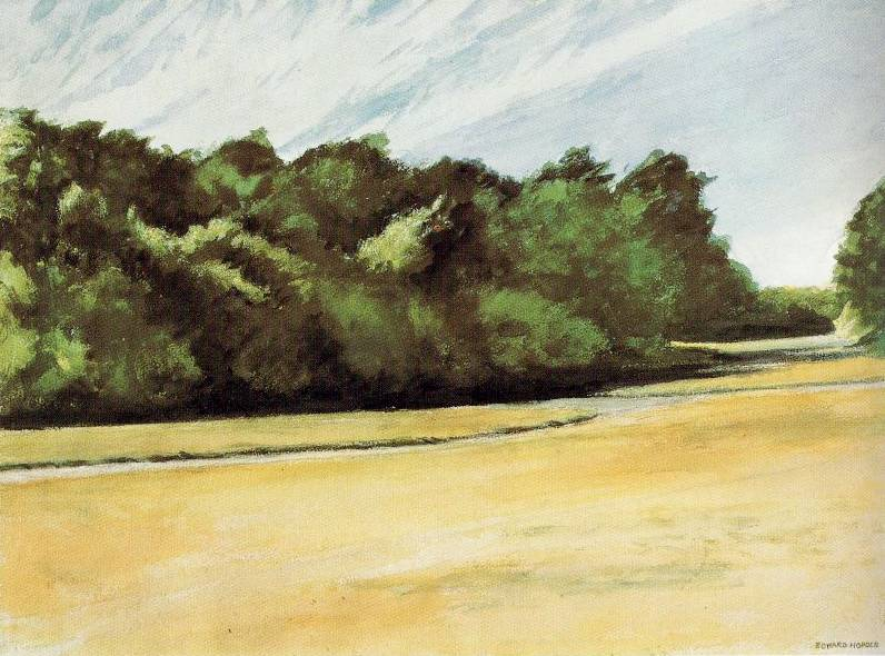 Mass of Trees at Eastham - Edward Hopper