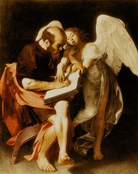 Matthew and the Angel - Caravaggio