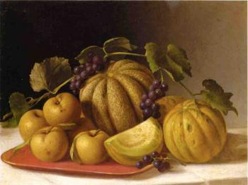 Melons and Yellow Apples - John F Francis