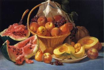 Melons, Peaches and Grapes - John F Francis