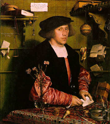 The Merchant - Hans Holbein