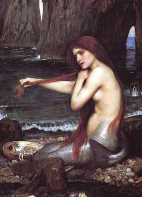 A Mermaid - John William Waterhouse
