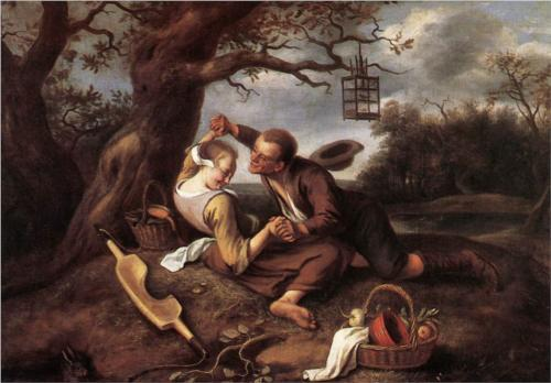 Merry Couple - Jan Steen