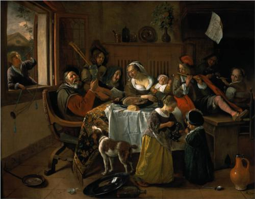 Merry Family - Jan Steen