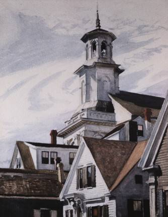 Methodist Church, Provincetown - Edward Hopper