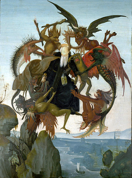 Torment of Saint Anthony - Michelangelo