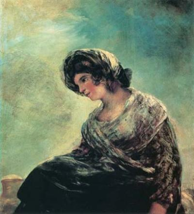 Milkmaid of Bordeaux - Francisco de Goya