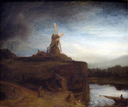 The Mill - Rembrandt van Rijn