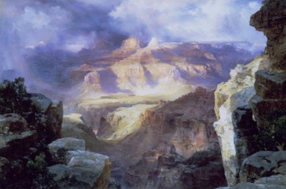 Miracle of Nature - Thomas Moran