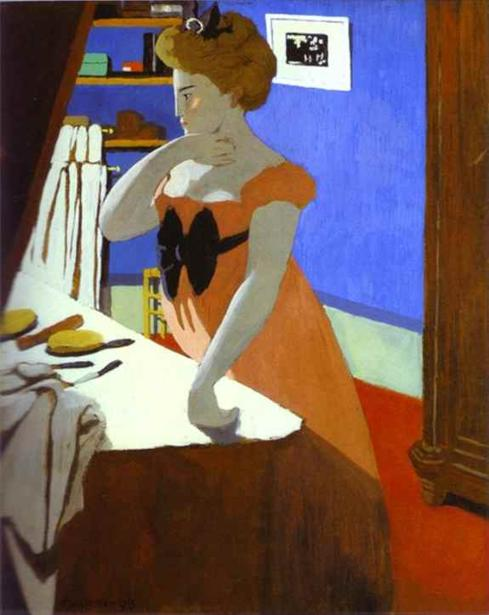 Misia at Her Dressing Table - Felix Vallotton