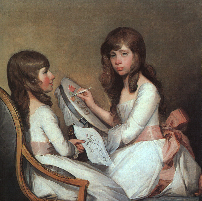 Miss Dick and her Cousin Miss Forster - Gilbert Stuart