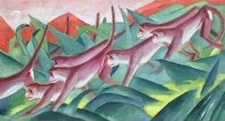 Monkey Frieze - Franz Marc