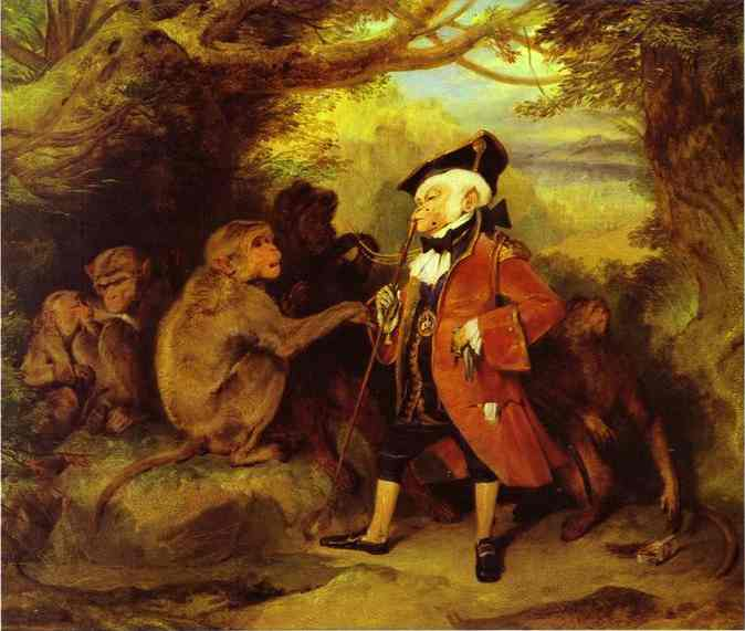 Monkey Who Had Seen the World - Edwin Henry Landseer