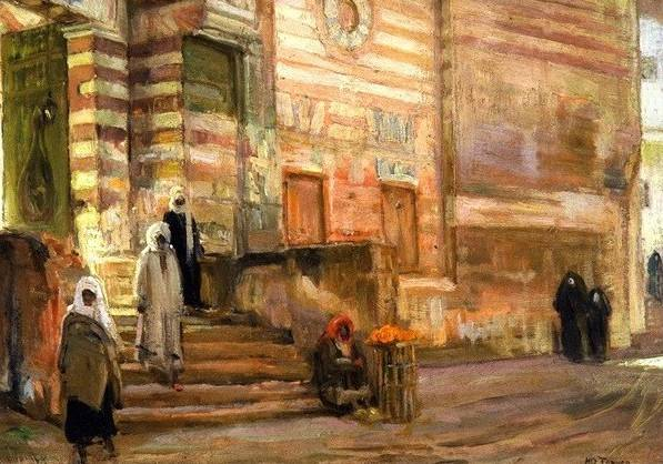 Mosque in Cairo - Henry Ossawa Tanner