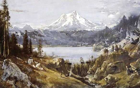 Mount Shasta and Castle Lake - Thomas Hill