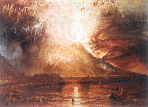 Mount Vesuvius in Eruption - Joseph Mallord William Turner