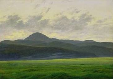 Mountainous Landscape - Caspar David Friedrich