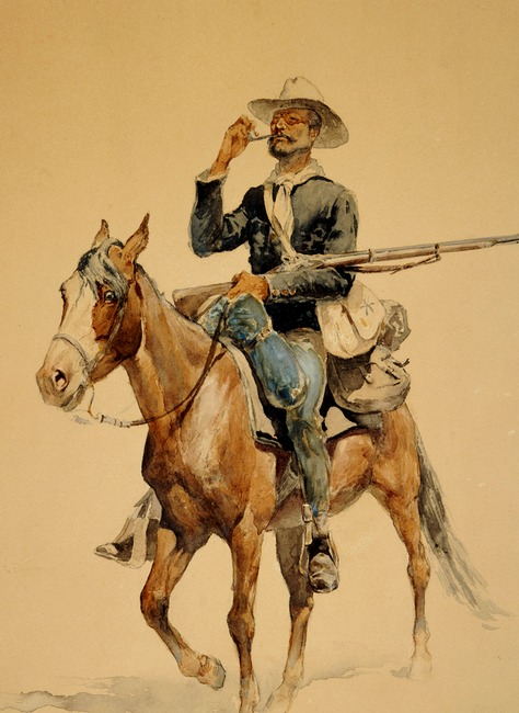 Mounted Infantryman - Frederic Remington